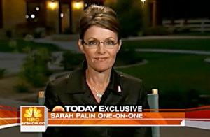 Sarah Palin - Today Show