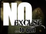 No Excuse to Quit Logo