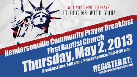 hville prayer breakfast ad
