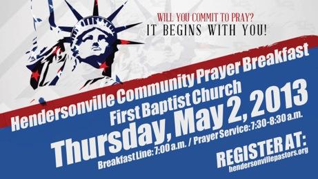 hville prayer breakfast ad