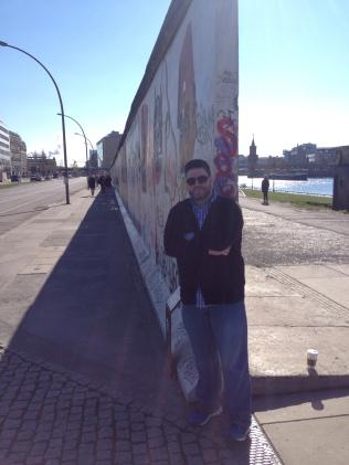 Aaron at Berlin Wall - 2014